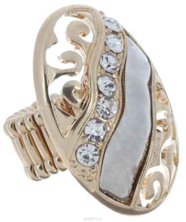 Купить Кольцо Avgad, цвет: золотистый, серебристый. EA178JW308