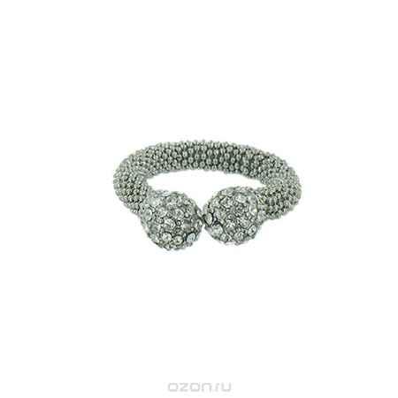 Купить Кольцо Taya, цвет: серебристый. T-B-4693