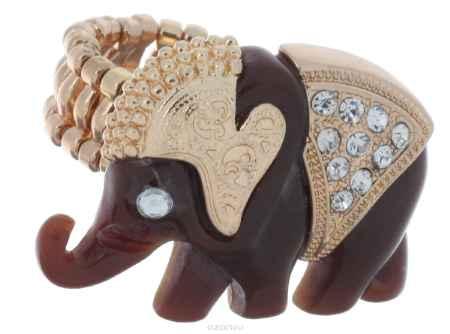 Купить Кольцо Avgad, цвет: золотистый, коричневый. EA178JW248