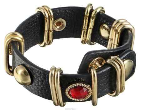 Купить Браслет Taya, цвет: золотой, коричневый, красный, голубой. T-B-7450