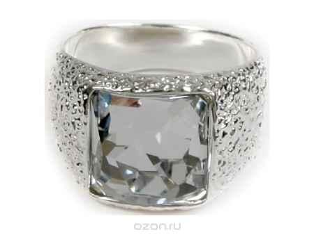Купить Кольцо Jenavi Коллекция Тайны вселенной Алудра, цвет: серебряный, белый. b833f000. Размер 18