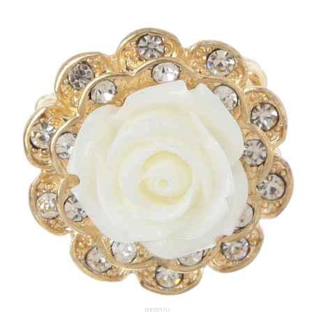 Купить Кольцо Avgad, цвет: золотистый, белый. EA178JW174