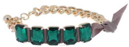 Купить Браслет Avgad, цвет: золотистый, зеленый. BR77KL157
