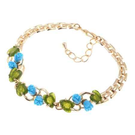 Купить Браслет Migura, цвет: золотой, зеленый, голубой. LOMD0013