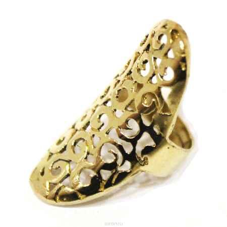 Купить Кольцо металл, золотое_3 Ethnica, цвет: золотой. 165090