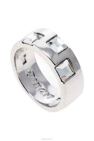 Купить Кольцо Jenavi Коллекция Quadro Вотоатину, цвет: серебряный, белый. r848f000. Размер 19