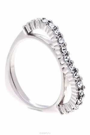 Купить Кольцо Jenavi Коллекция Teona Меави, цвет: серебряный, белый. f420f000. Размер 20