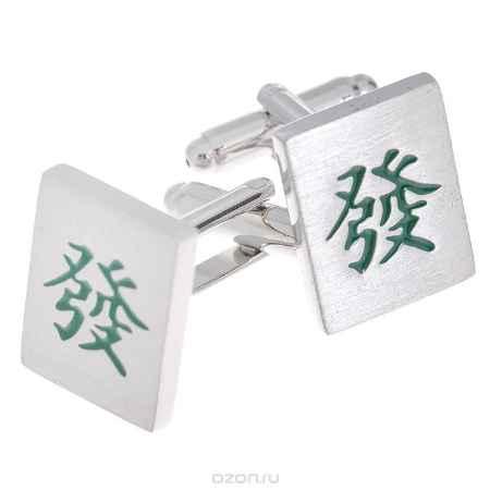 Купить Запонки Классика с иероглифом. ZAP-117