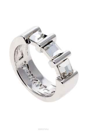 Купить Кольцо Jenavi Коллекция Quadro Таулу, цвет: серебряный, белый. r843f000. Размер 19