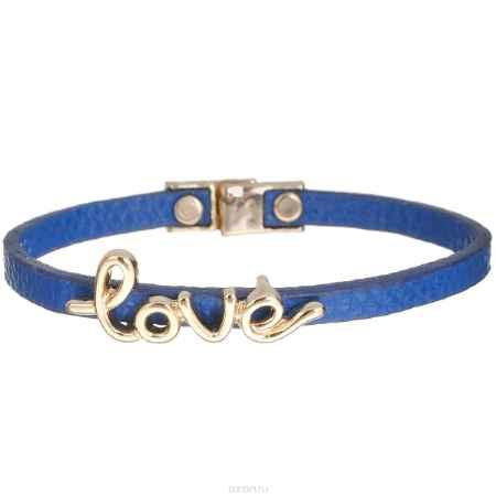 Купить Браслет Taya, цвет: золотистый, синий. T-B-6192
