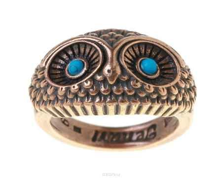 Купить Кольцо Jenavi Коллекция Bubo Майота, цвет: медный. r748u0b9. Размер 18