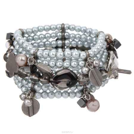 Купить Браслет Taya, цвет: серый. T-B-8240-BRAC-HEMATITE