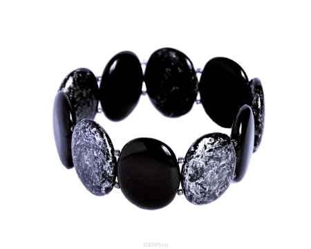 Купить Браслет Bohemia Style, цвет: черный, серебряный. BW1258 9653 47