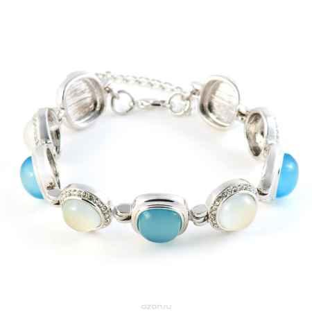 Купить Браслет Selena Medea, цвет: голубой, светло-серый, серый металлик. 40078570