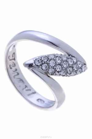Купить Кольцо Jenavi Коллекция Примавера Юсия, цвет: серебряный, белый. k020f000. Размер 19