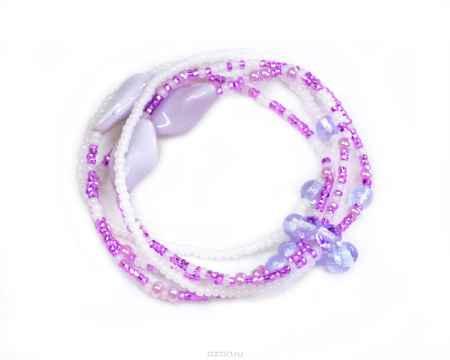 Купить Браслет Bohemia Style, цвет: фиолетовый, белый. 165 5253 02