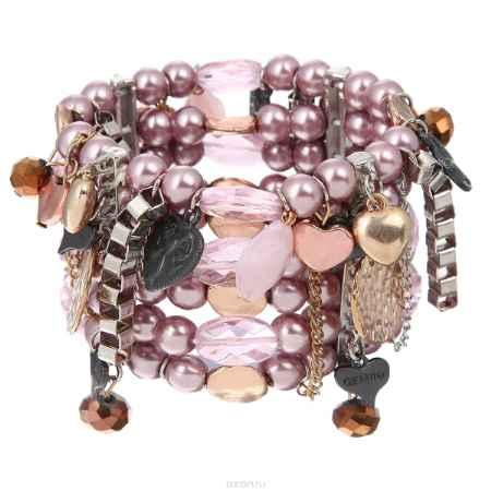 Купить Браслет Taya, цвет: розовый. T-B-8242-BRAC-PINK