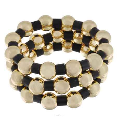 Купить Набор браслетов Avgad, цвет: золотистый, черный, 3 шт. BR77KL65