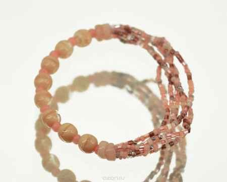 Купить Браслет Bohemia Style, цвет: персиковый, бежевый. 375 1906 908 000