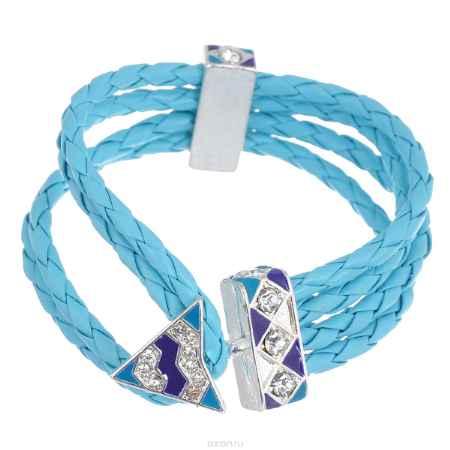 Купить Браслет Avgad, цвет: серебристый, бирюзовый. фиолетовый. BR77KL79