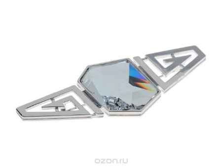 Купить Брошь Jenavi Коллекция Cocktail Коарнадо, цвет: серебряный, белый. j379f600. Размер 42104