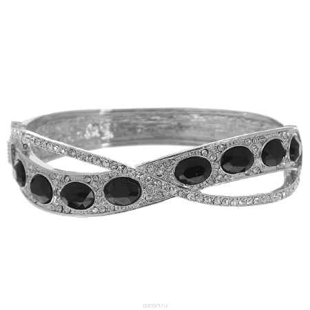 Купить Браслет Taya, цвет: серебристый, черный. T-B-7106