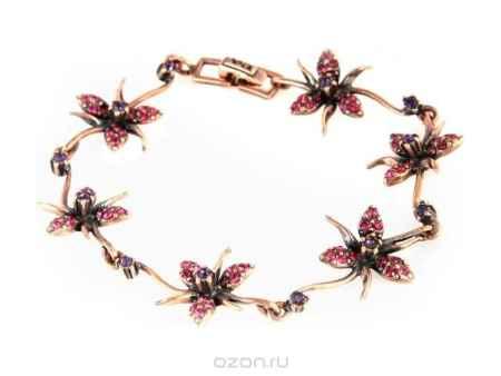 Купить Браслет Jenavi Коллекция Королева ночи Гудалеара, цвет: медный, мультиколор. j109u470. Размер 19