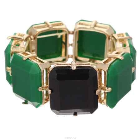 Купить Браслет Taya, цвет: зеленый. T-B-2553-BRACELET-GREEN