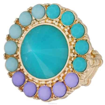 Купить Кольцо Avgad, цвет: золотистый, голубой, сиреневый. EA178JW181