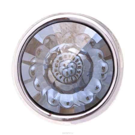 Купить Накладка на кольцо-основу Jenavi Коллекция Ротор Рууви, цвет: серебряный, мультиколор. k189fr46. Размер 2
