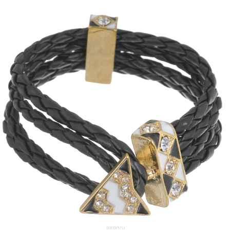 Купить Браслет Avgad, цвет: золотистый, черный, белый. BR77KL82