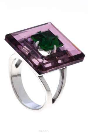 Купить Кольцо Jenavi Коллекция Тайны вселенной Центариус, цвет: серебряный, фиолетовый. b8283051. Размер 19