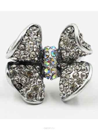 Купить Кольцо Taya, цвет: серебристый. T-B-6819