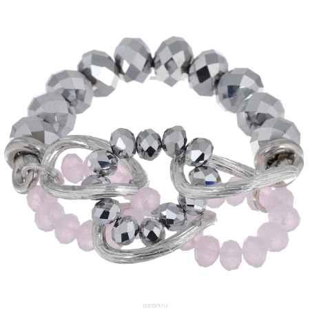 Купить Браслет Avgad, цвет: серебристый, светло-розовый. BR77KL76