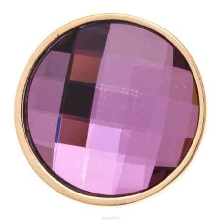 Купить Накладка на кольцо-основу Jenavi Коллекция Ротор Сцрев, цвет: золотой, розовый. k193pr10. Размер 2