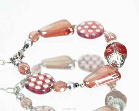 Купить Браслет Bohemia Style, цвет: бежевый, коралловый. S4223 07