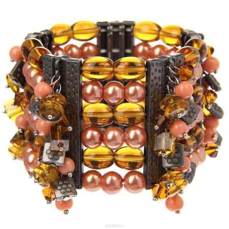 Купить Браслет Taya, цвет: коралловый. T-B-8245-BRAC-CORAL