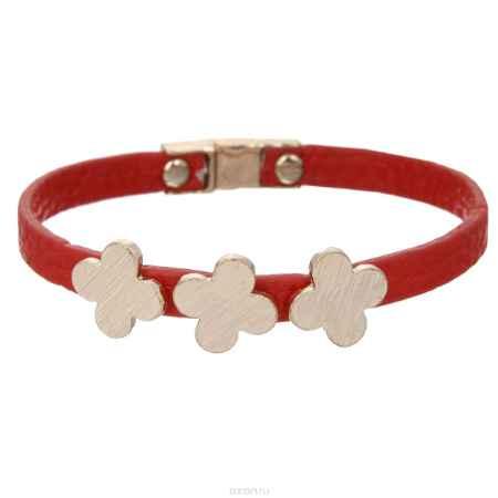 Купить Браслет Taya, цвет: золотистый, красный. T-B-5815