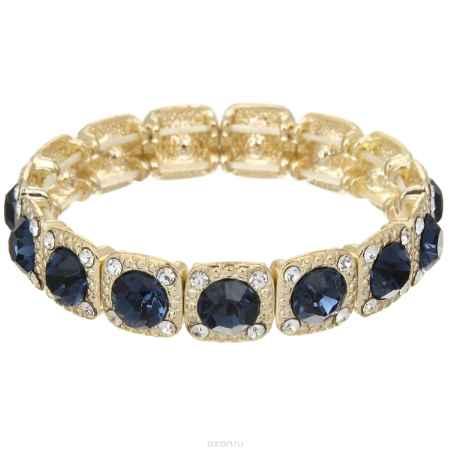 Купить Браслет Taya, цвет: золотистый, темно синий. T-B-4587-BRAC-GL.MONTANA