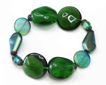 Купить Браслет Bohemia Style, цвет: зеленый, изумрудный. 165 4900 05