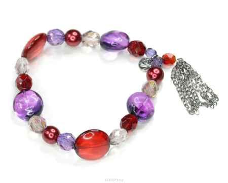 Купить Браслет Bohemia Style, цвет: красно-фиолетовый. Н108 32