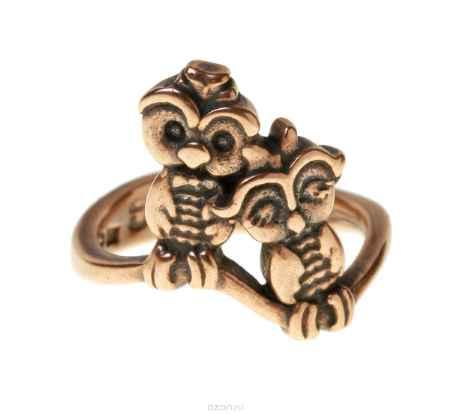 Купить Кольцо Jenavi Коллекция Bubo Торотороко, цвет: медный. r751u090. Размер 19
