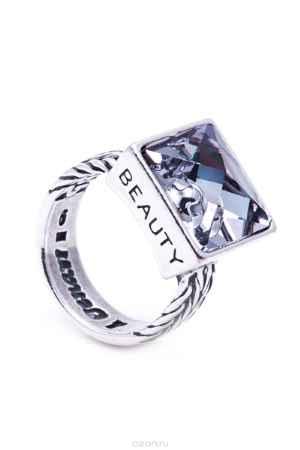 Купить Кольцо Jenavi Коллекция Relax Релакс, цвет: серебряный, серый. r9743066. Размер 17