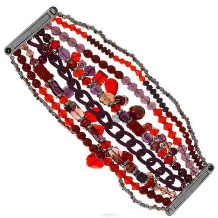 Купить Браслет Taya, цвет: темно-красный. T-B-8312