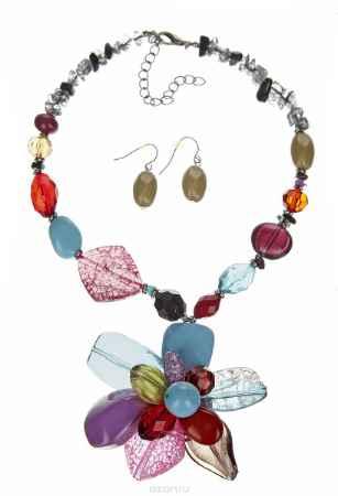 Купить Комплект украшений Taya, цвет: мультиколор. T-B-1378