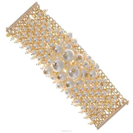Купить Браслет Taya, цвет: золотистый, перламутровый. T-B-8935