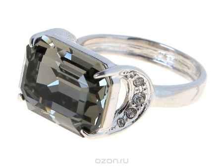 Купить Кольцо Jenavi Коллекция Погода Шквал, цвет: серебряный, серый. e514f066. Размер 21