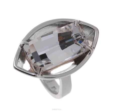 Купить Кольцо Jenavi Коллекция Грани Диандера, цвет: серебряный, белый. r640f000. Размер 19