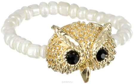 Купить Кольцо Taya, цвет: золотистый, слоновая кость. T-B-6417