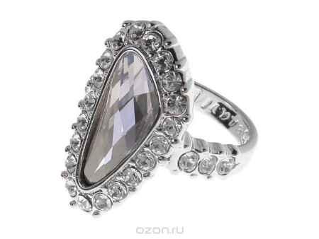 Купить Кольцо Jenavi Коллекция Айсберг Морена, цвет: серебряный, серый. r440f066. Размер 19